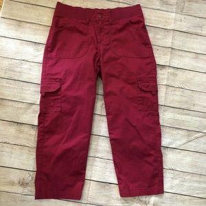 Lee Relaxed Fit Cargo Capri Pants - Size 8 Medium